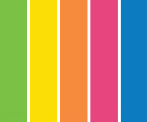 NELFT colour palette