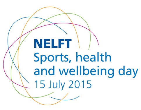 We would like you to join us at our annual NELFT sports, health and wellbeing day 2015 on Wednesday 15 July, from 12.30pm to 4.30pm.